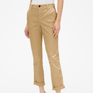 NWT Gap Girlfriend Chino Golden Khaki Size 12